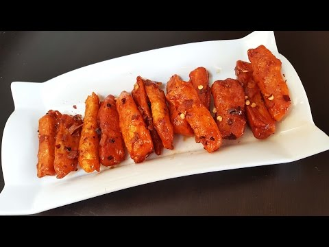 Crispy Chilli Potato| Indian Starter/Appetizer Recipe