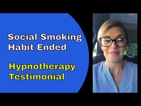 Stop Social Smoking - Quit Smoking Testimonial