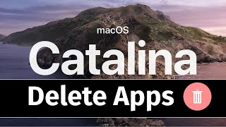How to Delete Apps on your Mac in macOS Catalina