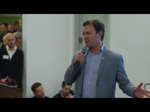 CEO of VoyagerMed at The Startup Showcase in San Francisco