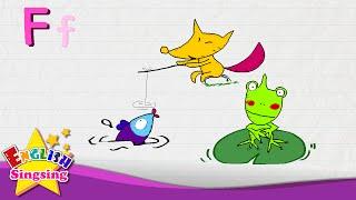 F là dành cho cá, Fox, Frog - Letter F - Alphabet Sông