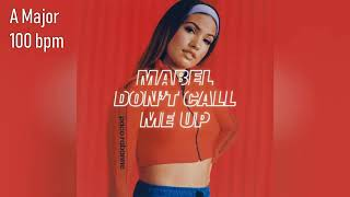 Mabel   Don't Call Me Up  FULL HQ ACAPELLA