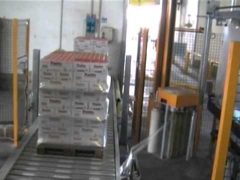 Navetta trasporto pallets - Bondani Packing Systems