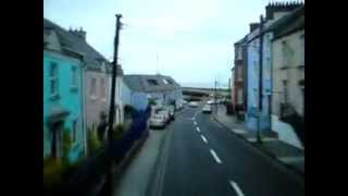 preview picture of video 'Bus Ride in Howth Village'