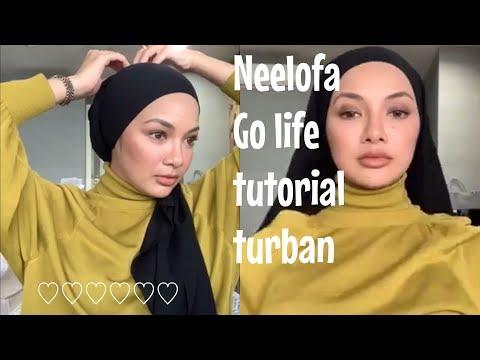 Neelofa go live buat tutorial turban😍😍