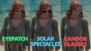 Glasses and Solar Spectacles