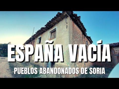 Pueblos abandonados en Soria: Tierras del Burgo