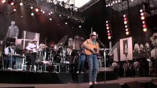 Alan Jackson - Blue Blooded Woman (Live at Farm Aid 1990)