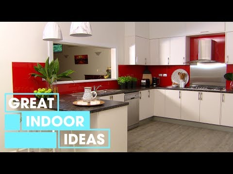 Bold Kitchen Makeover: Part 2 | Indoor | Great Home Ideas