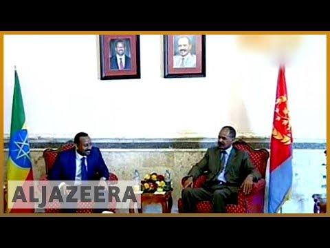 🇪🇷 🇪🇹 Eritrea President Isaias Afwerki in Ethiopia for landmark visit   Al Jazeera English