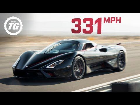 Kỷ lục tốc độ Thế giới dành cho xe thương mại đã chính thức bị phá vỡ bởi hypercar Mỹ SSC Tuatara: 532,9km/h!