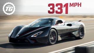 تحميل و مشاهدة WORLD'S FASTEST ONBOARD: SSC Tuatara hits crazy 331mph top speed!   Top Gear MP3