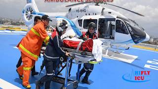 Book the Reliable Air Ambulance Service from Guwahati to Delhi by Hifly ICU