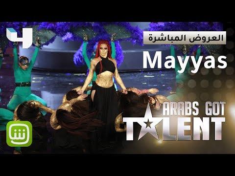 شاهد العرض الفائز بالموسم الأخير من برنامج Arabs Got Talent