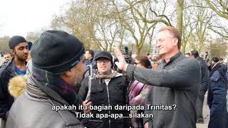 P3 - Tutupilah - Hashim Vs American Christian - Speakers Corner - Hyde Park