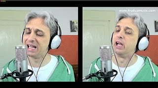 How to Sing a cover of I'm So Tired Beatles Vocal Harmony