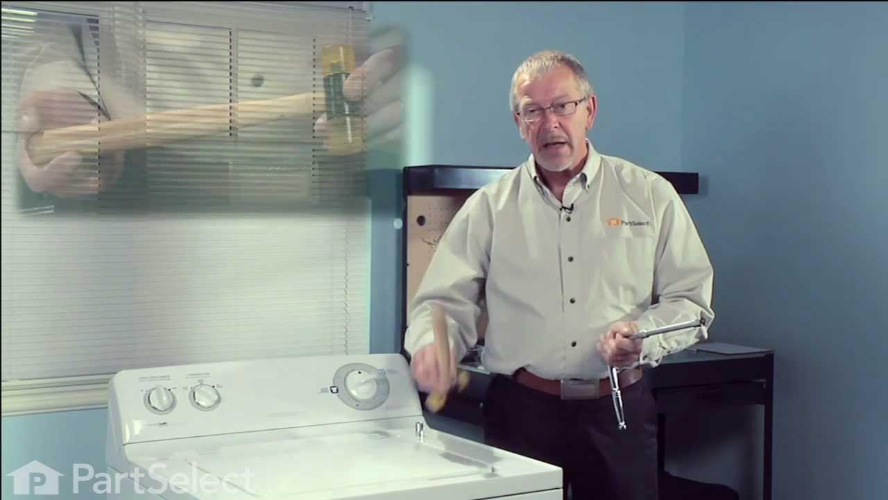 Replacing your General Electric Washer Agitator Coupling Kit