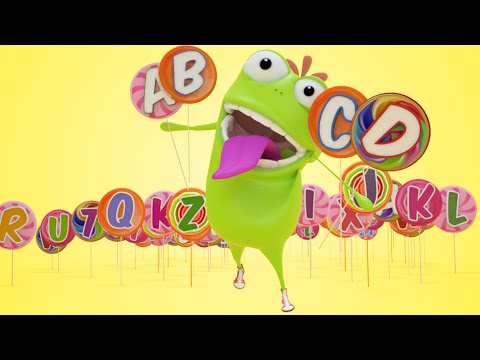 Mad Beans Alphabet Song   ABC Song For Kids