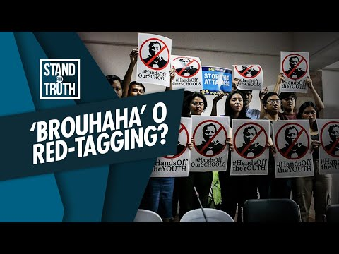 [GMA]  Stand for Truth: Red-tagging sa ilang female celebrities, walang ebidensya?