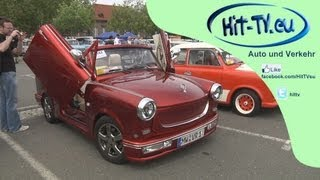 preview picture of video 'Internationales Trabant Fahrer Treffen (ITT) in Zwickau (Trabi Treffen) - Impressionen 15.06.2013'
