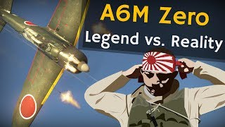 ⚜ | A6M Zero   Legend Vs. Reality