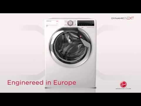 HOOVER DWT 58 AH 1-S Dynamic Wasmachine / Lave-linge - Product video Vandenborre.be