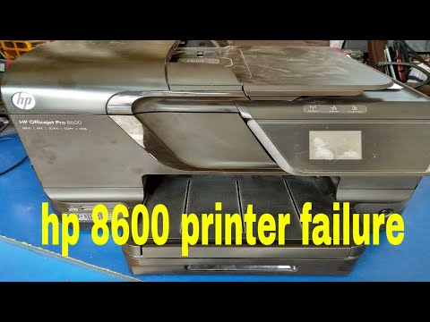 Download How To Fix Hp Officejet Pro 8600 Printer Failure Error