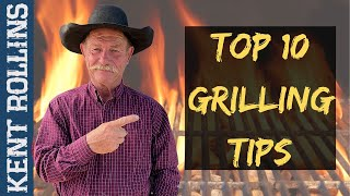 Top 10 Grilling Tips | How To Get More Flavor When Grilling