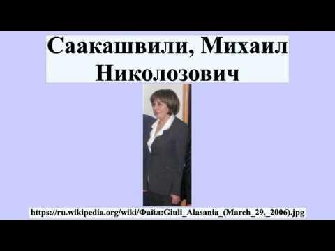 Саакашвили, Михаил Николозович