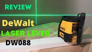 Review DeWalt Laser Level DW088