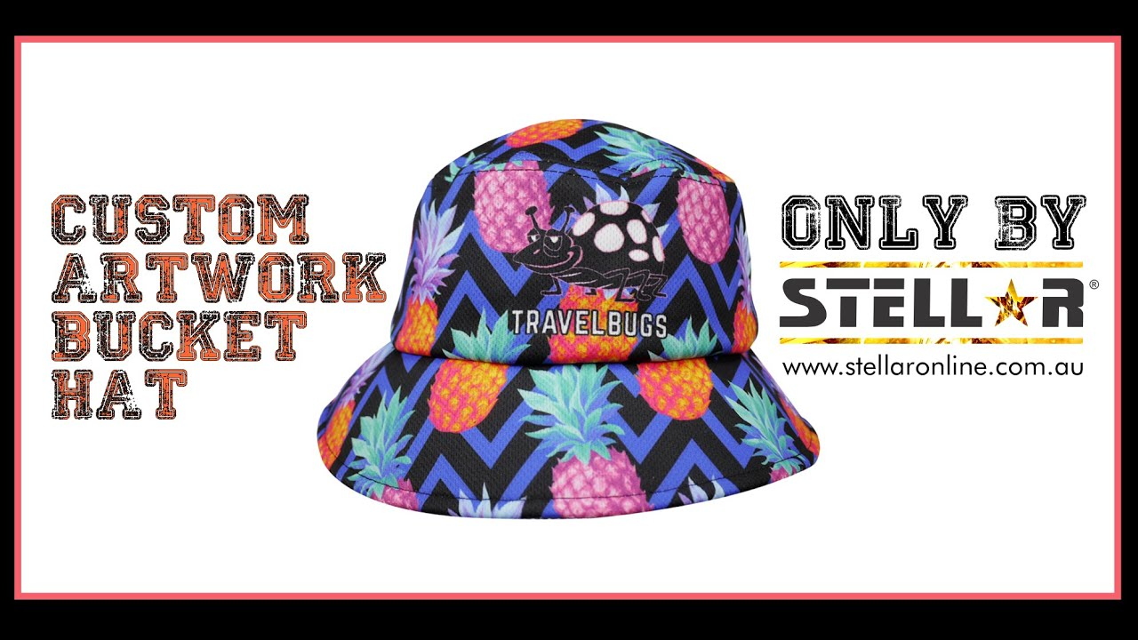Bucket Hat – Custom Designed to your Artwork specifications