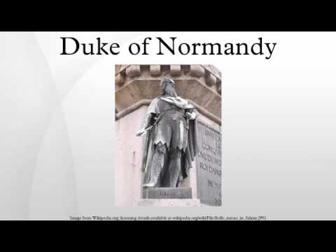 Duke of Normandy