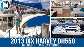 "2013 Dix Harvey DH 550 Performance Catamaran for Sale ""TAIKA"""