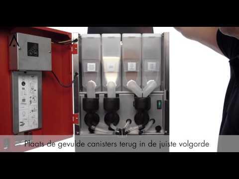 Video Animo OptiVend NG - Inbedrijfstelling
