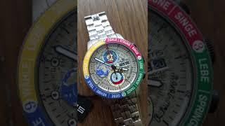 Watchesandart.com - Fortis Andora (the Famous Artist) With Turning Earth. (German Version)