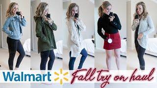 HUGE WALMART FALL TRY ON CLOTHING HAUL 2019 - AFFORDABLE FALL FASHION IDEAS | Lauren Midgley