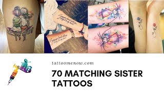 70 Meaningful Sister Tattoo Designs And Ideas