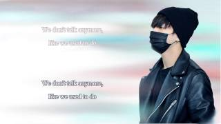 We don't talk anymore [ Karaoke Duet with Jungkook ]