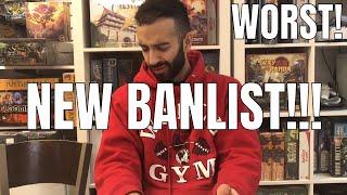 IM BANNED & FIREWALL ISNT! NEW SEPTEMBER BANLIST! WORST BANLIST OF ALL TIME! YUGIOH!