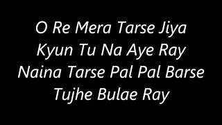 Atif Aslam's O Re Piya  Trance Mix 's Lyrics   YouTube
