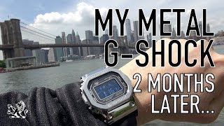5 Things I Love & Hate: The Metal G Shock $400 Watch, 2 Months Later