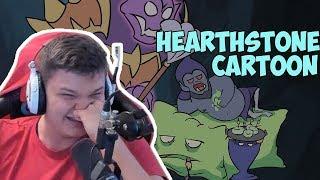 Сильвер смотрит: Hearthstone cartoon