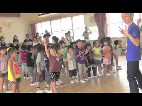 ノックチャック「からあげたべ体操」in 春日井市立上八田保育園