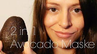 Quick & Easy   2 in 1   Avocado Maske für Haut und Haar   natürlich schön