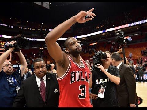 Dwayne Wade Bulls Mix  -