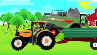 Мультфильмы.  Вася Пьяточкин   удобряет землю для посева.