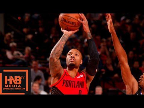 LA Clippers vs Portland Trail Blazers Full Game Highlights | 11.08.2018, NBA Season онлайн видео