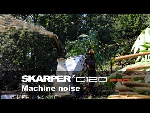 SKARPER® C120 PRO | zvuk stroja