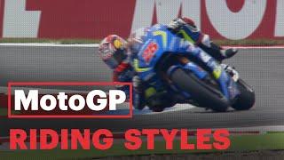 MotoGP RIDING STYLES | #MotoGPBuzz Technical Videos