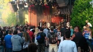 Sparzanza - Red dead revolver live liseberg 2013